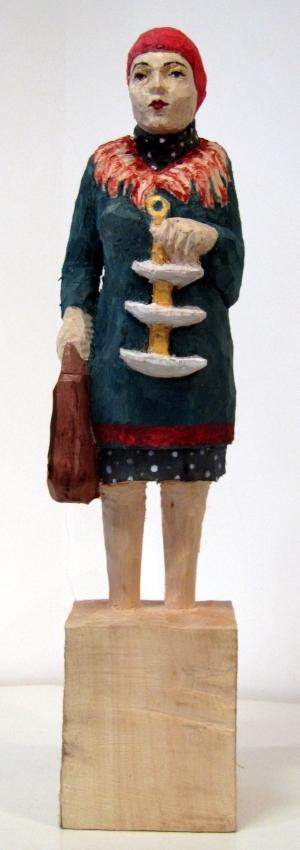 Edeka Frau [783] mit Etagere